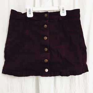Forever 21 Button down skirt